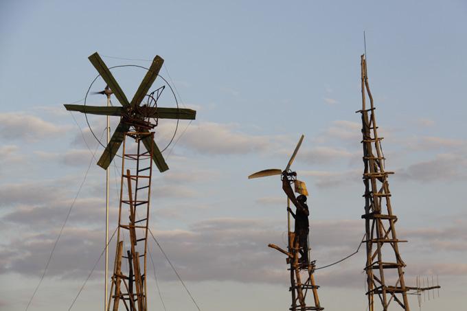 DIY low-tech windmills