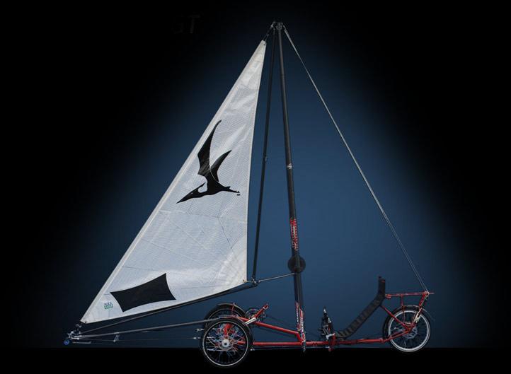 wind powered trike 1