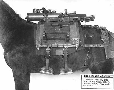 Phillips, Decker and Canadian Pack Saddles