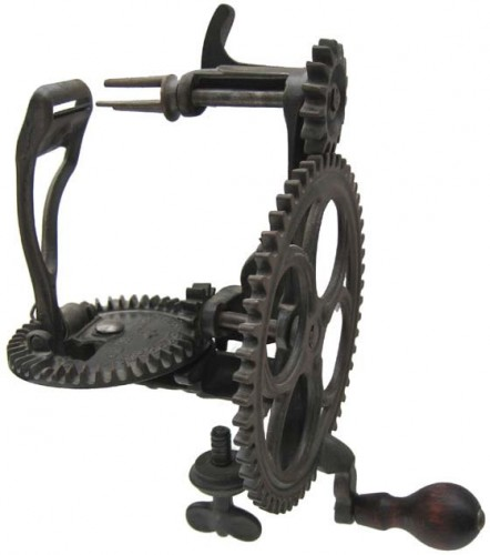 hand powered apple peeler