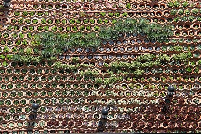 lowtech vertical garden ibiza