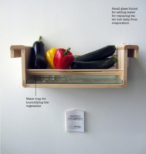 food storage fruit and vegetables