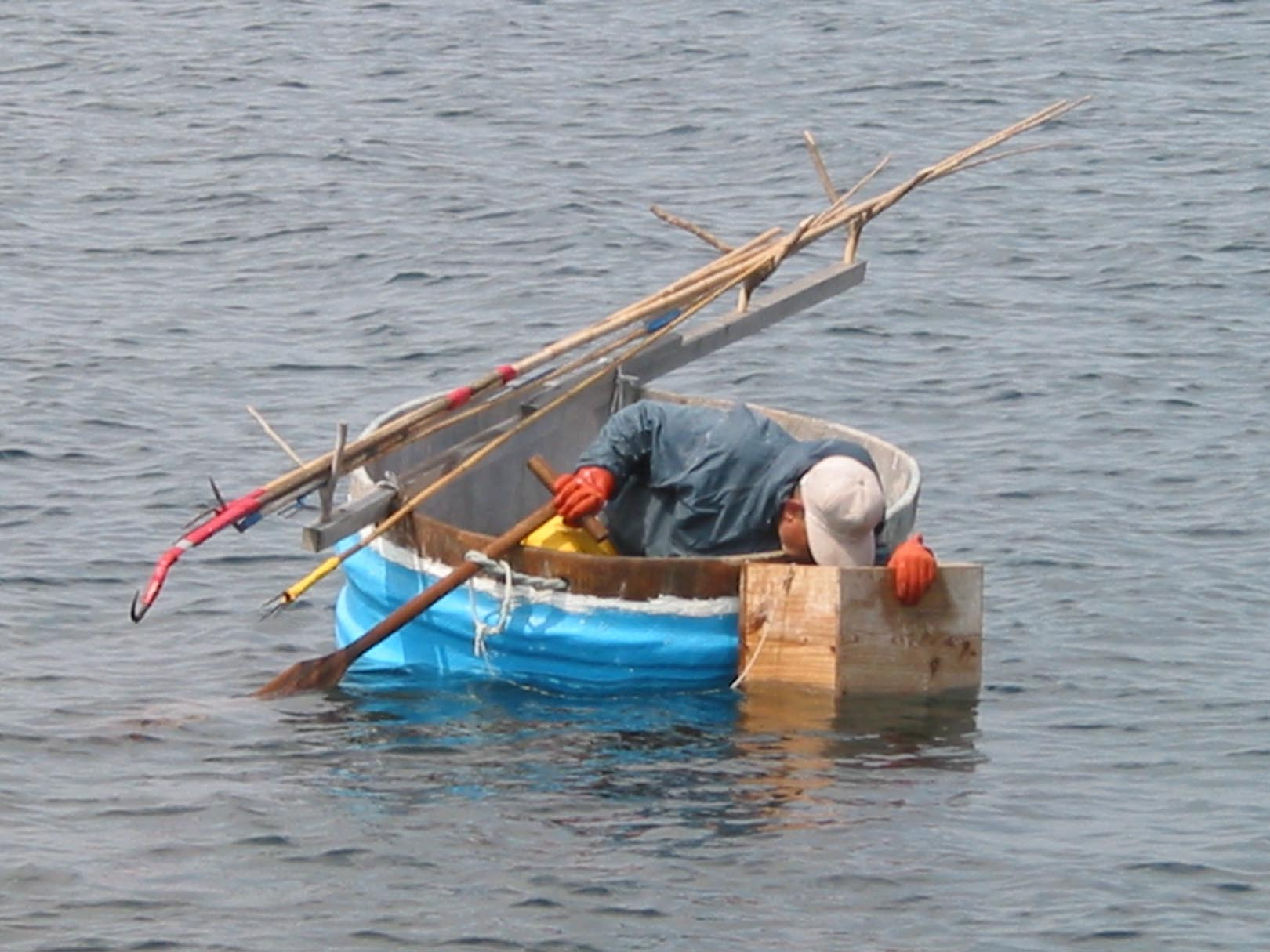 Fishing gear for Japanese fishing boat