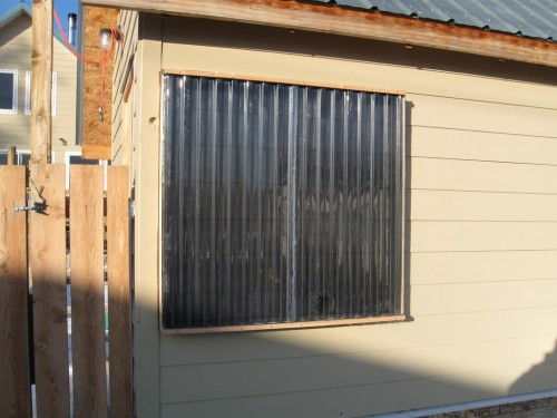 solar thermal direct air heater