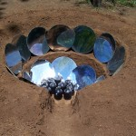 Earthen Solar Cooker