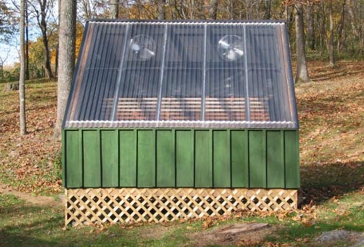 solar drying lumber