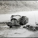 Floating Grain Mill in Old China