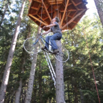 Bike-Powered Treehouse Elevator