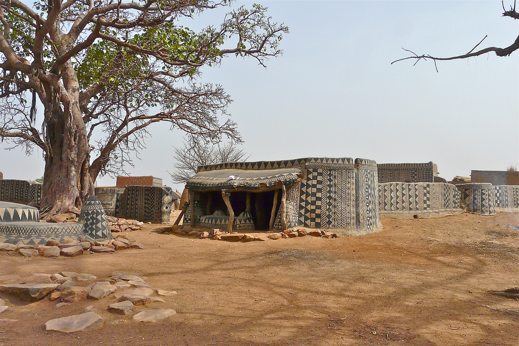 decorated mud house 2