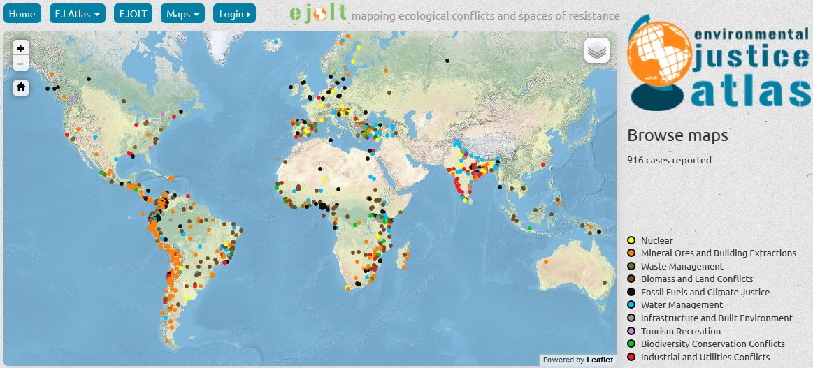 atlas of environmental justice