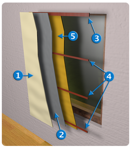 kume insulating curtain inside