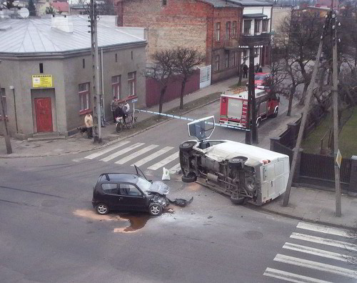 car accident in poland wikipedia commons