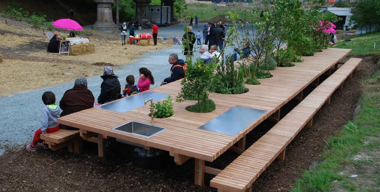 the landscape table