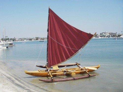canoe and kayak sailing