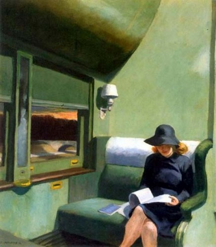 edward hopper train dreaming