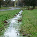 Recharging Groundwater with Water-Harvesting Ditches