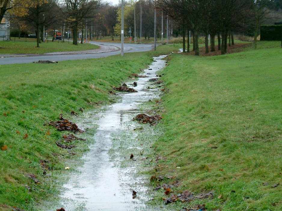 Recharging Groundwater With Water Harvesting Ditches