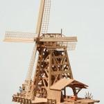 Scale Models of Dutch Windmills