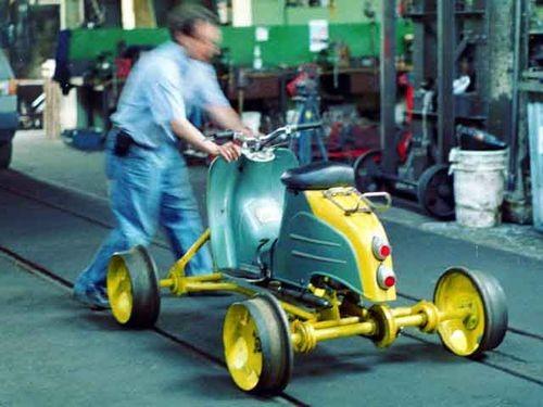 streetcar scooter