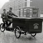 Tandem Cargo Tricycle (1940) & More Vintage Dutch Carrier Bikes