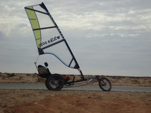 wind powered trike 2