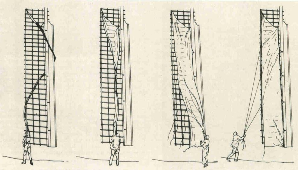 how to rig a windmill sail