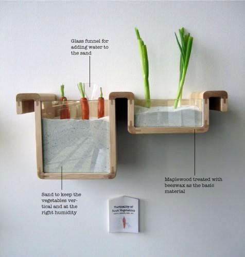 food storage of root vegetables