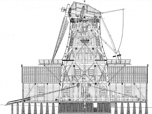 building plans dutch sawmill