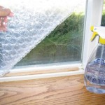Bubble Wrap Window Insulation