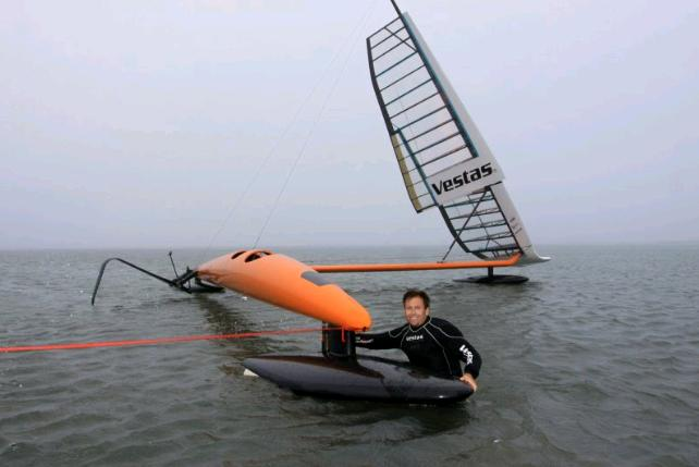 fastest sailboat in the world