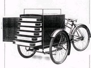 cargo cycle for egg deliveries