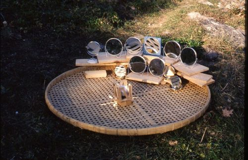 model of moonlight concentrator