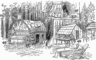 shelters shacks shanties
