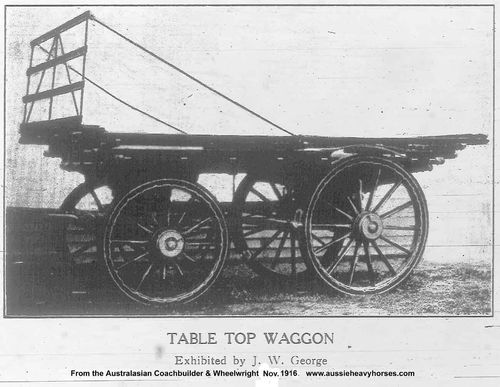 table top wool waggon 9