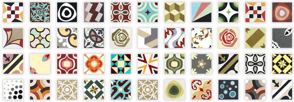 hydraulic tiles 2