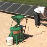 Solar Powered Grain Mill