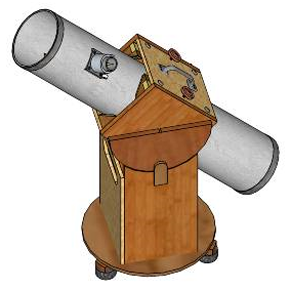 the dobsonian telescope