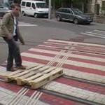 Pallets On Rails