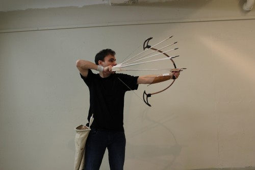 high speed archery