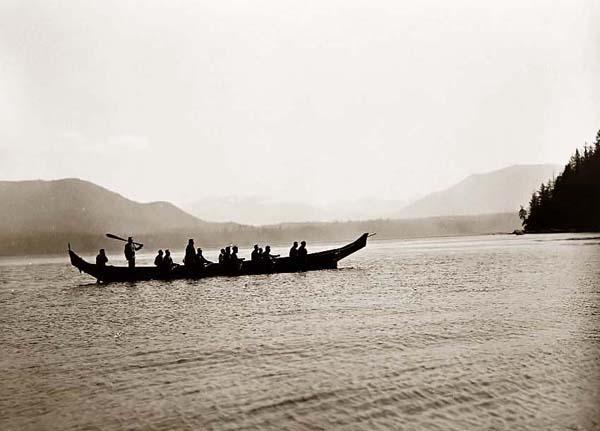 Kwakiutl-Boat